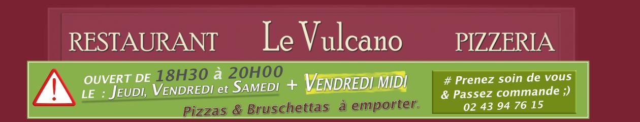 Le Vulcano Pizzeria Le Lude